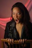 1 женский multiracial вампир Стоковые Изображения RF