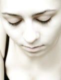 1 женщина стороны Стоковые Фотографии RF