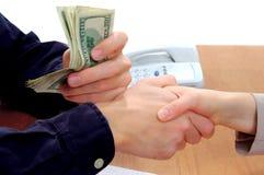 1 загерметизированная коммерческая сделка Стоковое фото RF