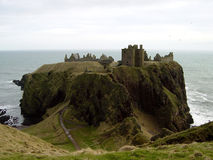 1 замок dunnottar Стоковые Фотографии RF