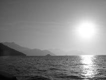 1 заход солнца Стоковые Фото
