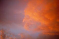 1 заход солнца Стоковое фото RF