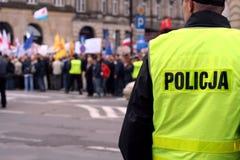 1 защищать демонстрации Стоковое Фото