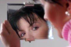 1 зеркало Стоковая Фотография