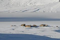 1 зима долины zanskar Стоковые Фото