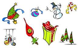 1 зима иконы цвета Стоковая Фотография RF
