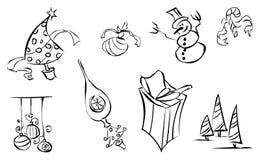 1 зима иконы Стоковое Изображение