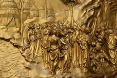 1 золото дверей Стоковое Фото
