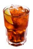 1 известка коктеила изолированная льдом Стоковое Изображение RF