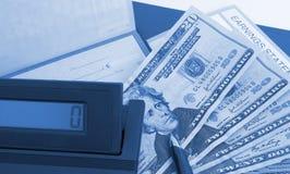 1 инвестиционные планы Стоковая Фотография RF
