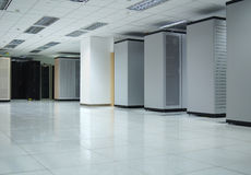 1 интерьер datacenter Стоковая Фотография