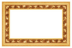 1 кадр золотистый Стоковые Фото