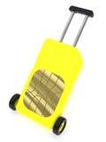 1 как sim карточки представленное багажом Стоковые Фотографии RF