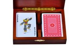 1 карточка коробки открытая Стоковые Фото