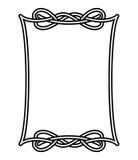 1 кельтская рамка Стоковая Фотография