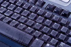 1 клавиатура Стоковое Изображение RF