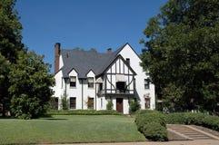 1 классицистический дом Стоковые Изображения