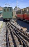 1 колесо поезда cog старое Стоковые Фото