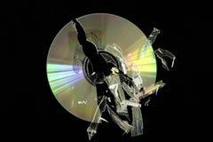 1 компактный диск Стоковое Изображение RF
