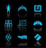 1 комплект иконы элементов конструкции Стоковые Фотографии RF