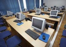 1 компьютер класса Стоковая Фотография RF