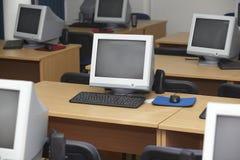 1 компьютер класса Стоковые Изображения RF