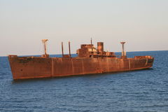 1 кораблекрушение Стоковые Фотографии RF