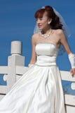 1 красивейшая белизна моста невесты Стоковое фото RF