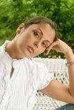 1 красивейшая женщина портрета стоковая фотография