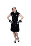1 красивейший работник женщины конструкции Стоковое Фото