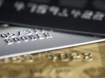 1 кредит карточек Стоковое Изображение