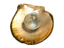 1 кристаллический глобус Стоковые Изображения