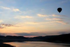 1 ландшафт воздушного шара Стоковые Изображения
