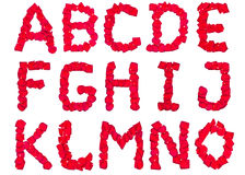 1 лепесток pt алфавита Стоковые Фото