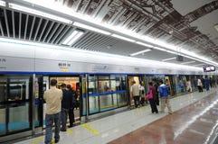 1 линия метро chengdu Стоковое Изображение RF