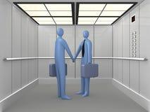 1 лифт 3d Стоковое Изображение