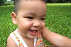 1 мальчик немногая молодое Стоковая Фотография