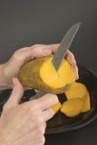 1 манго вырезывания Стоковые Фотографии RF