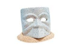 1 маска гранита Стоковая Фотография RF