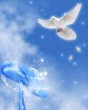 1 мир dove Стоковые Фото