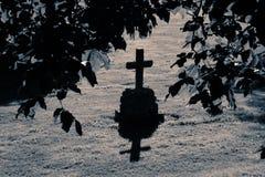 1 могила Стоковая Фотография RF