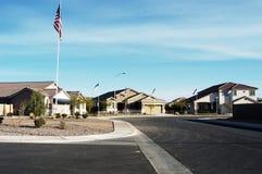 1 модель домов Стоковая Фотография
