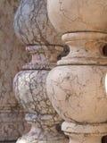 1 мрамор колонки Стоковая Фотография