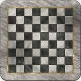 1 мрамор шахмат Стоковое Фото