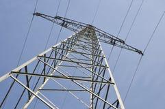 1 напряжение тока высокой башни Стоковые Изображения