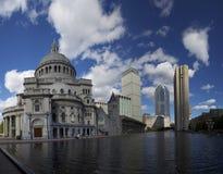 1 наука церков boston christ Стоковая Фотография