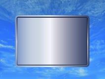 1 небо знака Стоковые Изображения