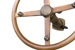 1-ое рулевое колесо изоляции Стоковые Изображения