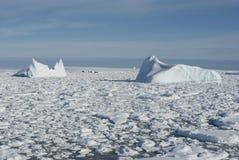 1 океан айсбергов южный Стоковые Фотографии RF