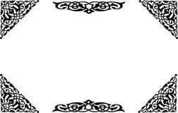 1 орнамент Стоковое Изображение RF